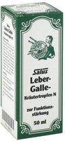 Duopharm Salus Leber galle Kraeutertropfen N 50 ml