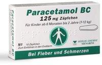 Berlin-Chemie Paracetamol Bc 125 mg Suppos. (10 Stück)
