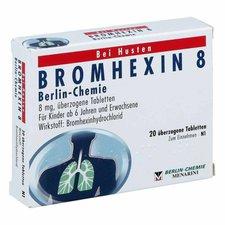Berlin-Chemie Bromhexin 8 Berlin Chemie Drag. (20 Stück)