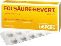 Hevert Folsaeure Tabl. (20 Stück)
