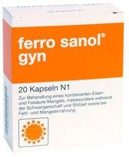 SANOL Ferro Sanol Gyn Kapseln (20 Stück)