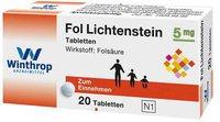 Winthrop Fol Lichtenstein Tabl. (20 Stück)