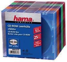 Hama 62670 CD-ROM Leerhüllen Slim