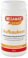 Megamax Aufbaukost Vanille Pulver (500 g)