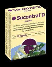 Harras Sucontral D Diabetiker Kapseln (20 Stk.)