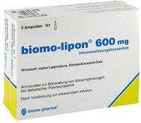biomo Lipon 600 Mg Amp. (10 Stück)