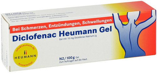 Heumann Diclofenac Gel (100 g)
