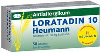 Heumann Loratadin 10 Tabl. (50 Stück)
