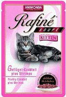 Animonda Petfood Rafiné Soupé Kitten Geflügelcocktail (100 g)