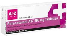 AbZ Paracetamol 500 Mg Tabletten (20 Stück)