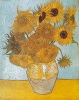 Clementoni Van Gogh - Vase mit Sonnenblumen