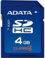 A-Data SDHC Card Super 4 GB Class 4