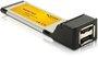 DeLock 2-Port ExpressCard 54 eSATA II (61386)