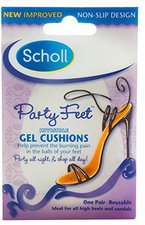 Scholl Party Feet Ballenpolster Ultra Dünn (2 St.)