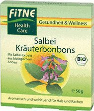 Fitne Salbei Kräuter Bonbons (50 g)