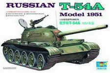 Trumpeter Russian T-54A Model 1951 (0340)