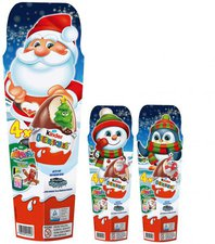 Ferrero Kinder Überraschung 4er Set Weihnachten