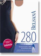 BELSANA Glamour 280den Strumpfhose kurz für Schwangere S brenda