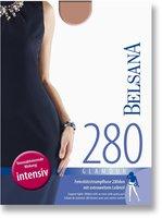 BELSANA Glamour 280den Strumpfhose kurz für Schwangere S sinfonie