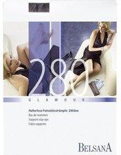 BELSANA Glamour 280den Schenkelstrumpf lang SHB S perle