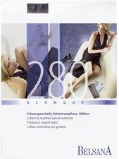 BELSANA Glamour 280den Strumpfhose für Schwangere M schwarz