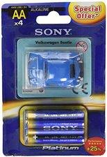 Sony Stamina Platinum 4x AA / LR6