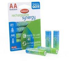 Hähnel 4x AA Synergy Ready to Go 2100mAh