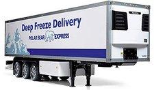 "Tamiya Kühl-Container Auflieger  ""Deep Freeze Delivery "" Bausatz (56319)"