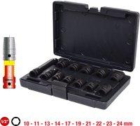 KS Tools 515.0112 Kraft-Stecknusssatz (12-teilig)