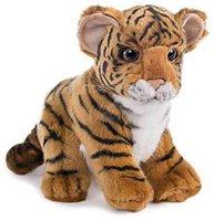 Hansa Toy Tigerbaby braun sitzend 20 cm