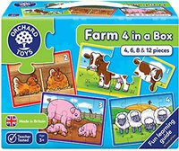 Orchard Toys Bauernhof - 4 in einer Box
