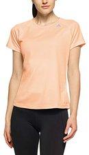 b0338078f19fe4 adidas Damen D2M Lose Kurzarm T-Shirt Clear Orange XS