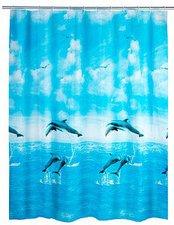 Wenko Duschvorhang Dolphin 180 x 200