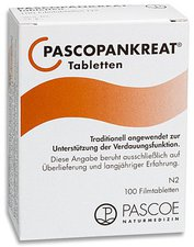 PASCOE Pascopankreat Tabletten (100 Stk.)  (PZN: 01590630)