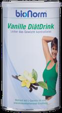 pharmakon Bionorm Vanille Diaetdrink M.L-Carnitin Pulver (400 g)