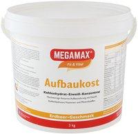 Megamax Megamax Aufbaukost Erdbeere Pulver (3000 g)