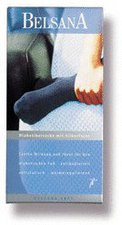 BELSANA Soft Diabetiker Socke 2 beige mit Silberfaser