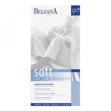 BELSANA Soft Diabetiker Socke 3 beige mit Silberfaser
