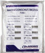 Dr. JUNGHANS Matratzen-Schutzbezug Folie 0,1 mm Weiss (70 x 140 cm)