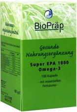 BioPräp Super Epa 1000 Omega 3 Kapseln (100 Stück)