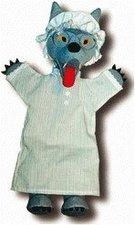 Trullala Handpuppe Wolf (verkleidet) 40 cm