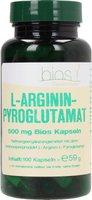 Bios L-Argininpyroglutamat 500 mg Bios Kapseln (100 Stk.)