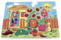 Setzpuzzle Jumbo 10032191 Holzpuzzle 3 Stufen Kuh Legespiel Spielzeug Puzzle NEU
