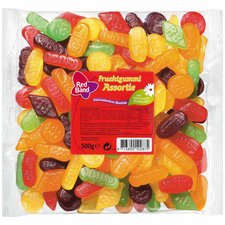 Red Band Fruchtgummi Assortie (500 g)