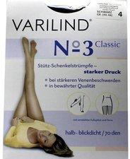 Varilind No. 3 Classic Strümpfe 4 schwarz mit HB (2 Stk.)