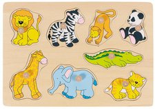 goki Steckpuzzle Zootiere