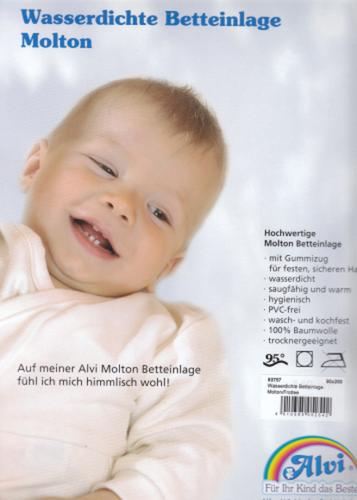 Alvi Molton Betteinlage (90 x 200)