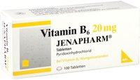 Jenapharm Vitamin B 6 20 mg Tabletten (100 Stk.)