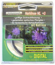 Bilora Nahlinse +3 Dioptrien 52mm