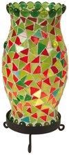Näve 325103 Tischleuchte Mosaik Höhe 27cm grün
